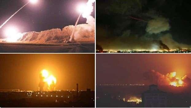 إستهداف قاعدة عين الأسد في العراق بدون خسائر 1