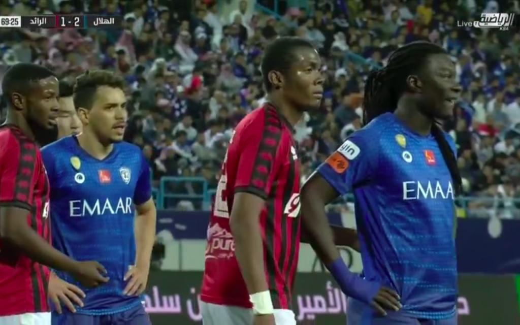 صورة نتيجة مباراة الهلال ضد الرائد وفوز الهلال