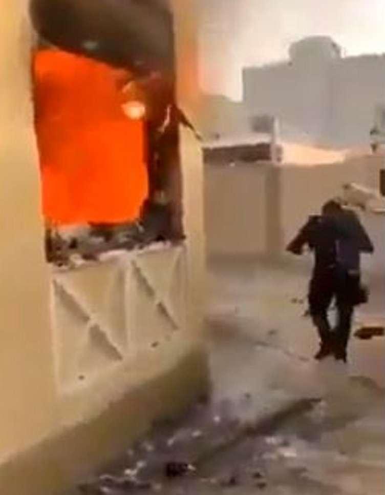 صورة من هو سلطان نهار العتيبي اسماء اببناء سلطان العتيبي في حريق منزله