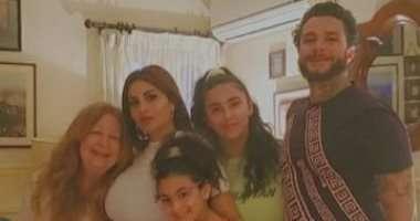 "Photo of أسرة الفنانه "" سمية الألفى"" تحتفل بعيد ميلادها"