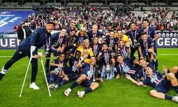 PSG باريس سان جيرمان يتفوق على سانت إتيان ويفوز في نسخة 2020 بكأس فرنسا